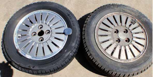 Cleaning Alloy Wheels With Oven Cleaner