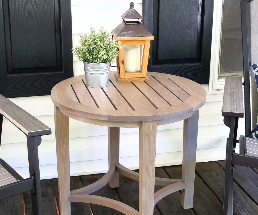 How to Make an Outdoor Side Table