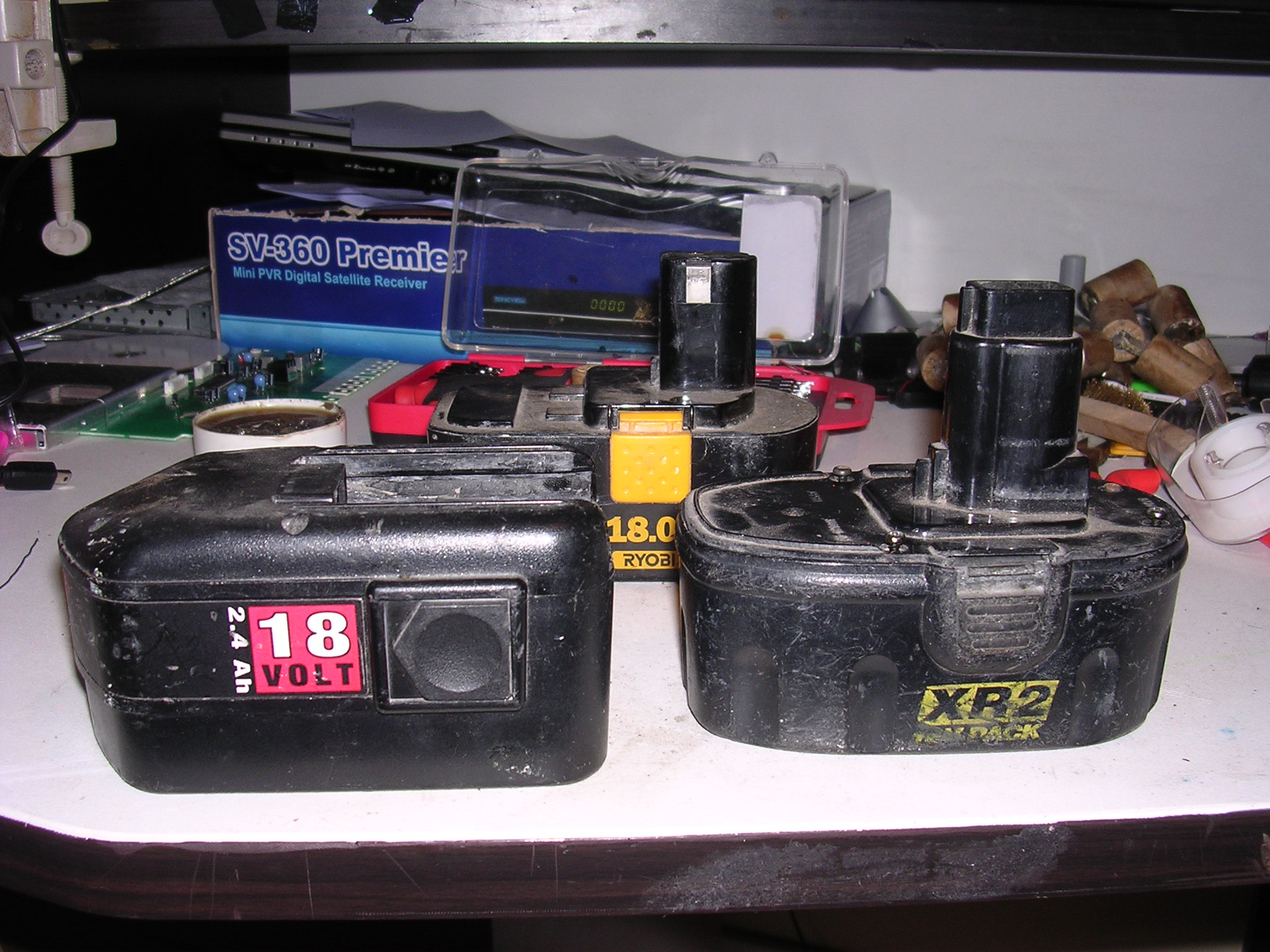 Battery transplant, recycling to the max