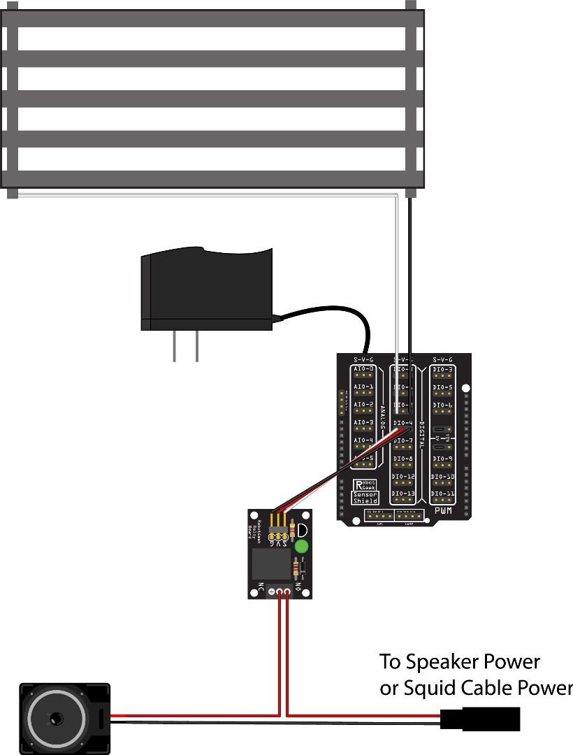 Powering a Siren or Other DC Device