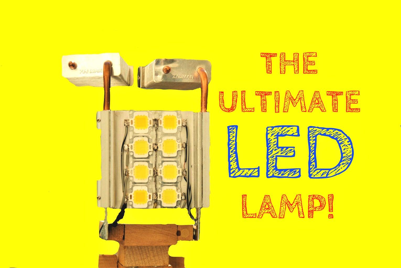 SpectrumLED V2.0 - the ULTIMATE Variable Spectrum Lamp!