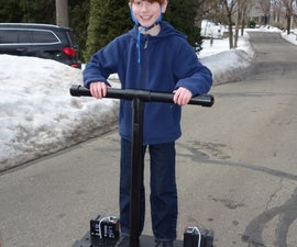 Rideable Segway Clone - Low Cost and Easy Build
