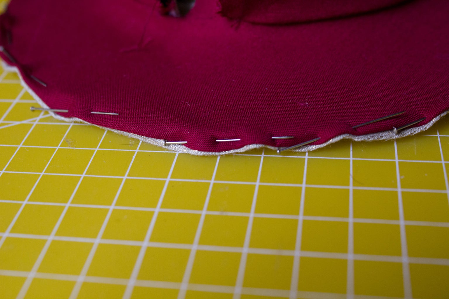 The Hat : Fabric Part