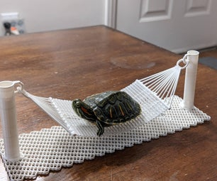 Mini 3D Printed Hammock