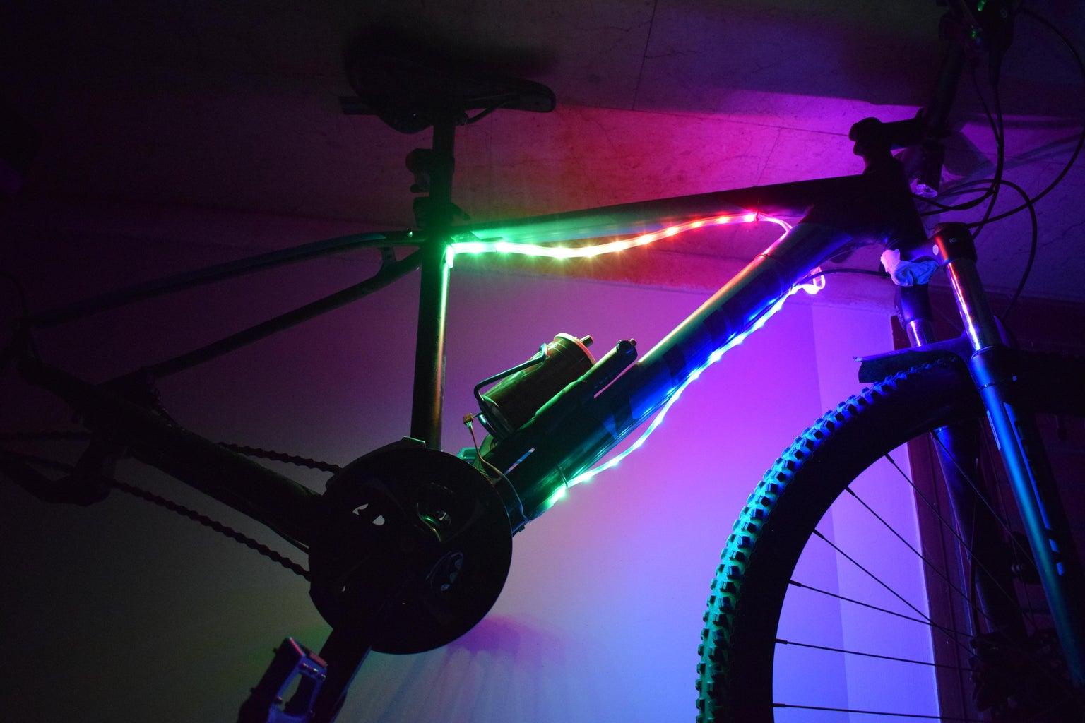 Neopixel Bike Lights