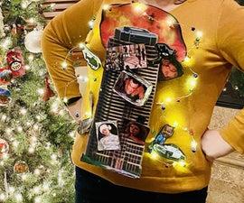DIY Die Hard-theme Ugly Christmas Sweater