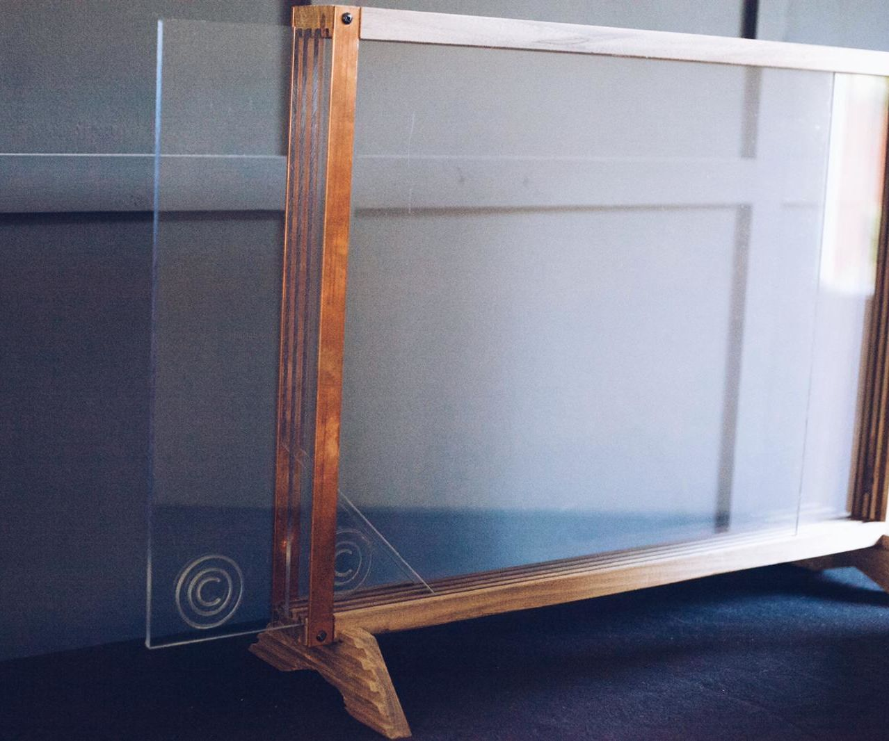 The First Four Layered Drawing Board - I Call It the Overl4y
