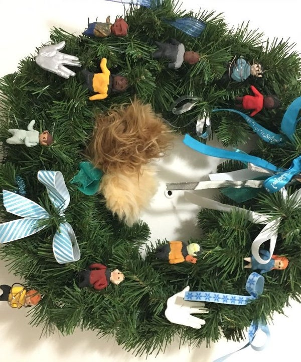 Star Trek Enterprise Christmas Wreath