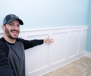 Installing Board and Batten Wainscoting