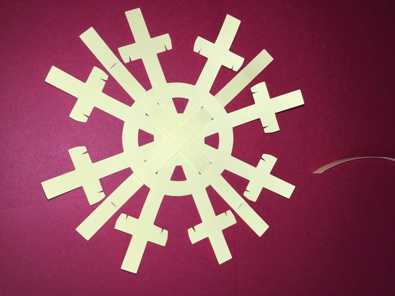 Step 8: Cross