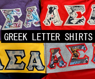 Greek Letter Shirts