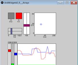 ArdWidgets - GUI Library for Arduino