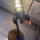 Rocket Ship Lamp