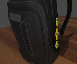 External Pencil Holder