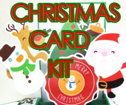 Christmas Themed Popup Card