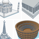 3d Monuments on Tinkercad