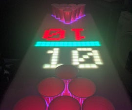 Interactive Pong Table