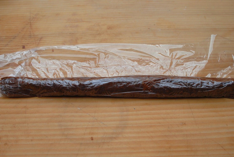 Chocolate Salami - Forming