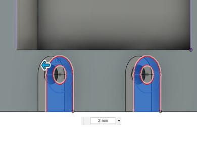 Design Process - Moving Load Cell Mount - Endstop Standoffs