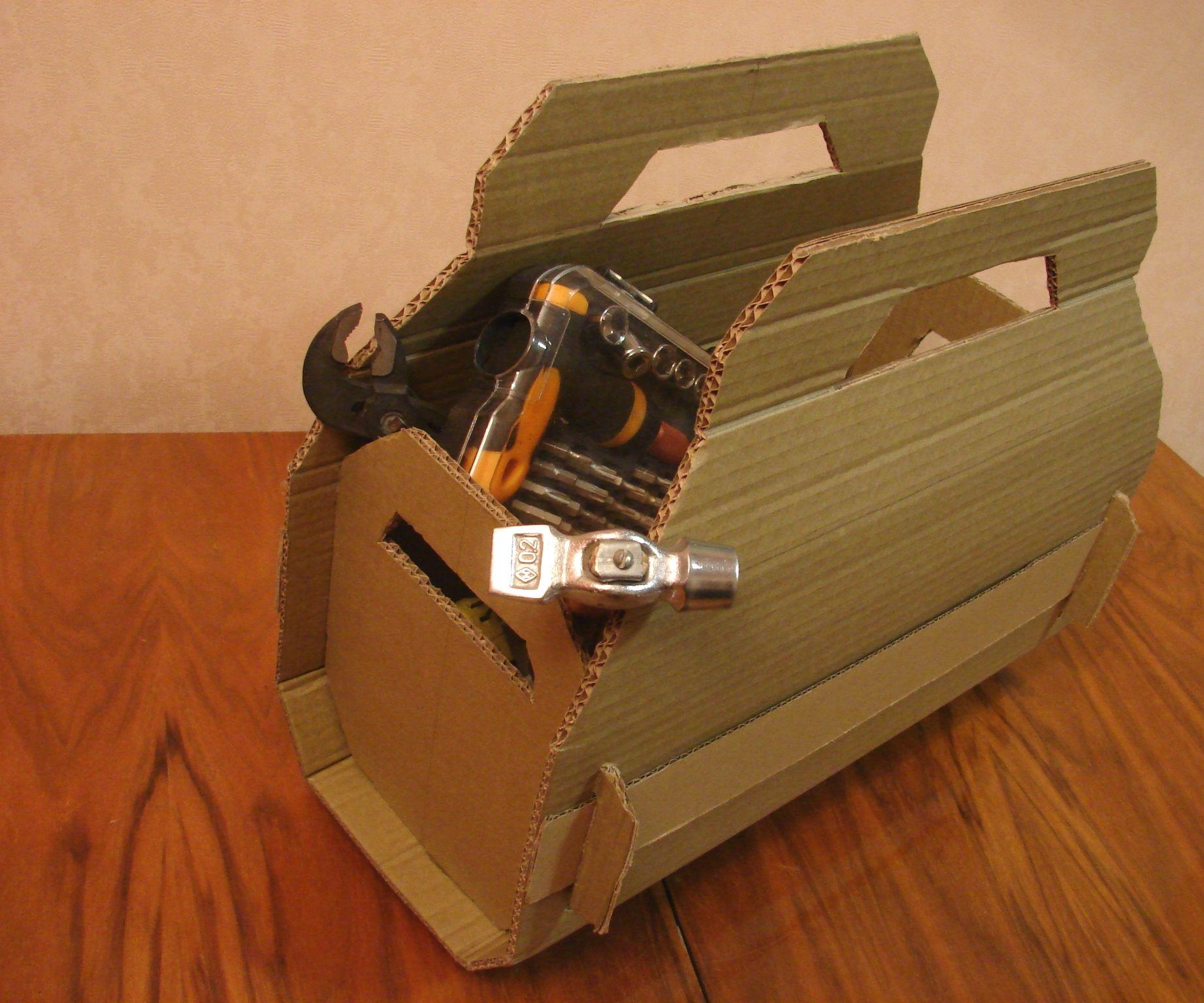 Cardboard Tool Bag
