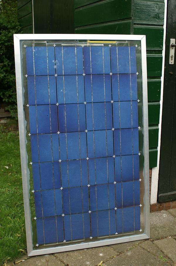 Home Made Solar Panel
