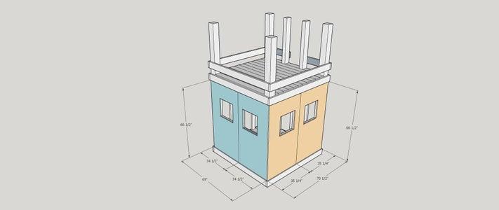 Step 10: Window Side Walls
