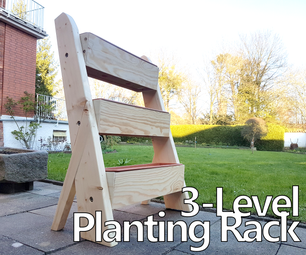 How to Make a 3-Level Planting Rack