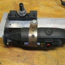 Dremel tool post grinder