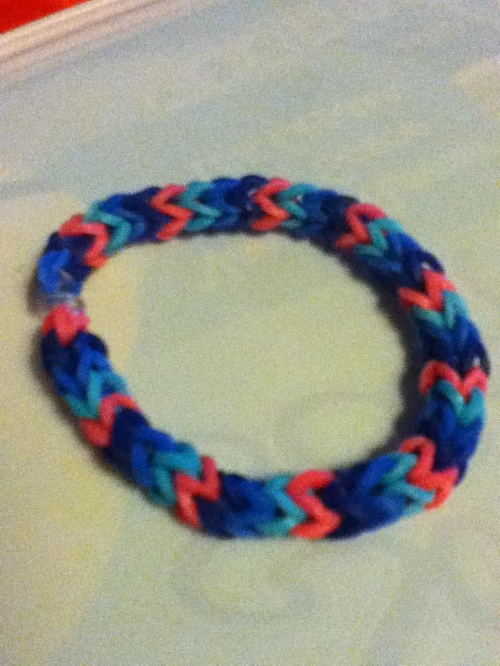 Rainbow Loom Bracelet Without Loom