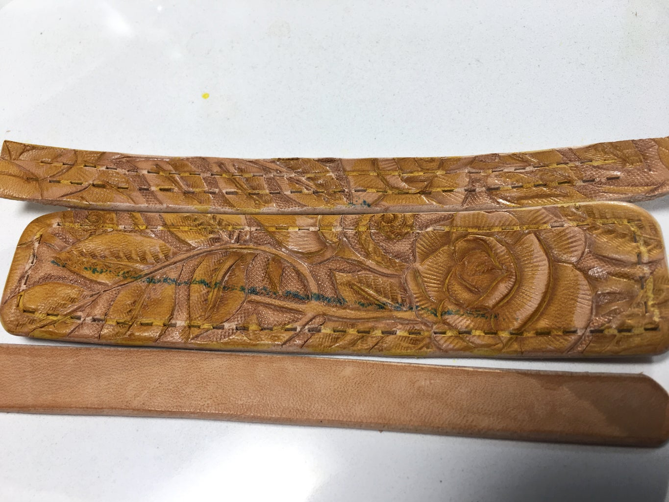 Leather Painting, Layer 1
