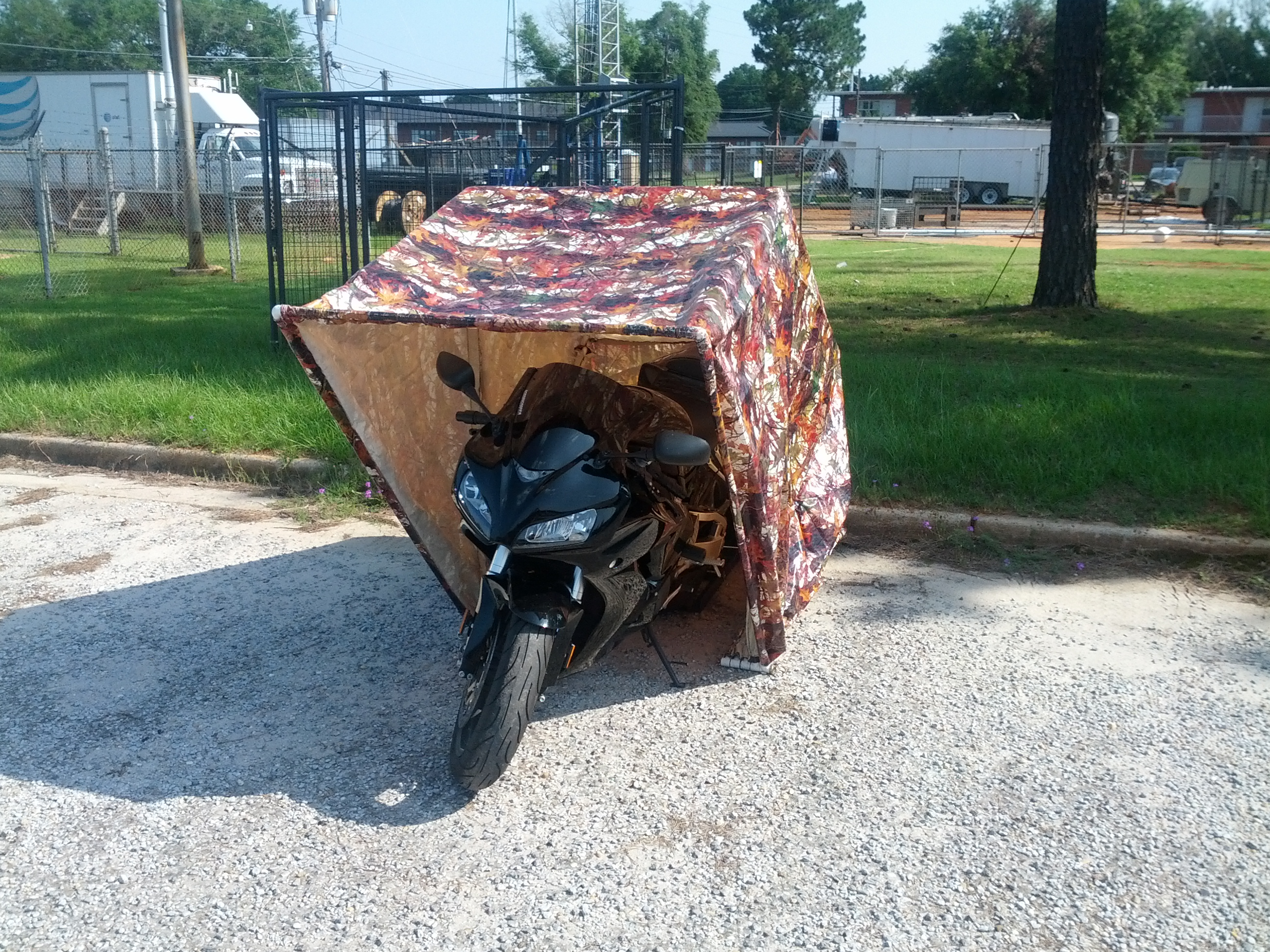 Motorcycle Shell DIY Garage
