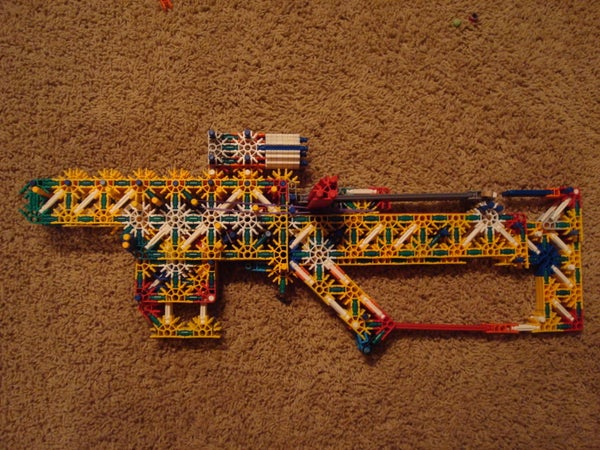 Knex Double Shot Assualt Rifle