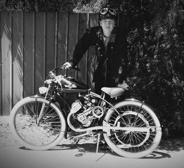 Replica Vintage Motorcycle