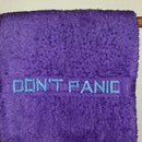 Don't Panic: Embroider a Towel With a Standard Sewing Machine, Just Like a Hoopy Frood
