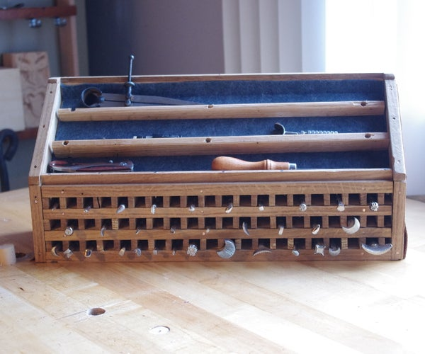 Organizer for Leather Working Tools