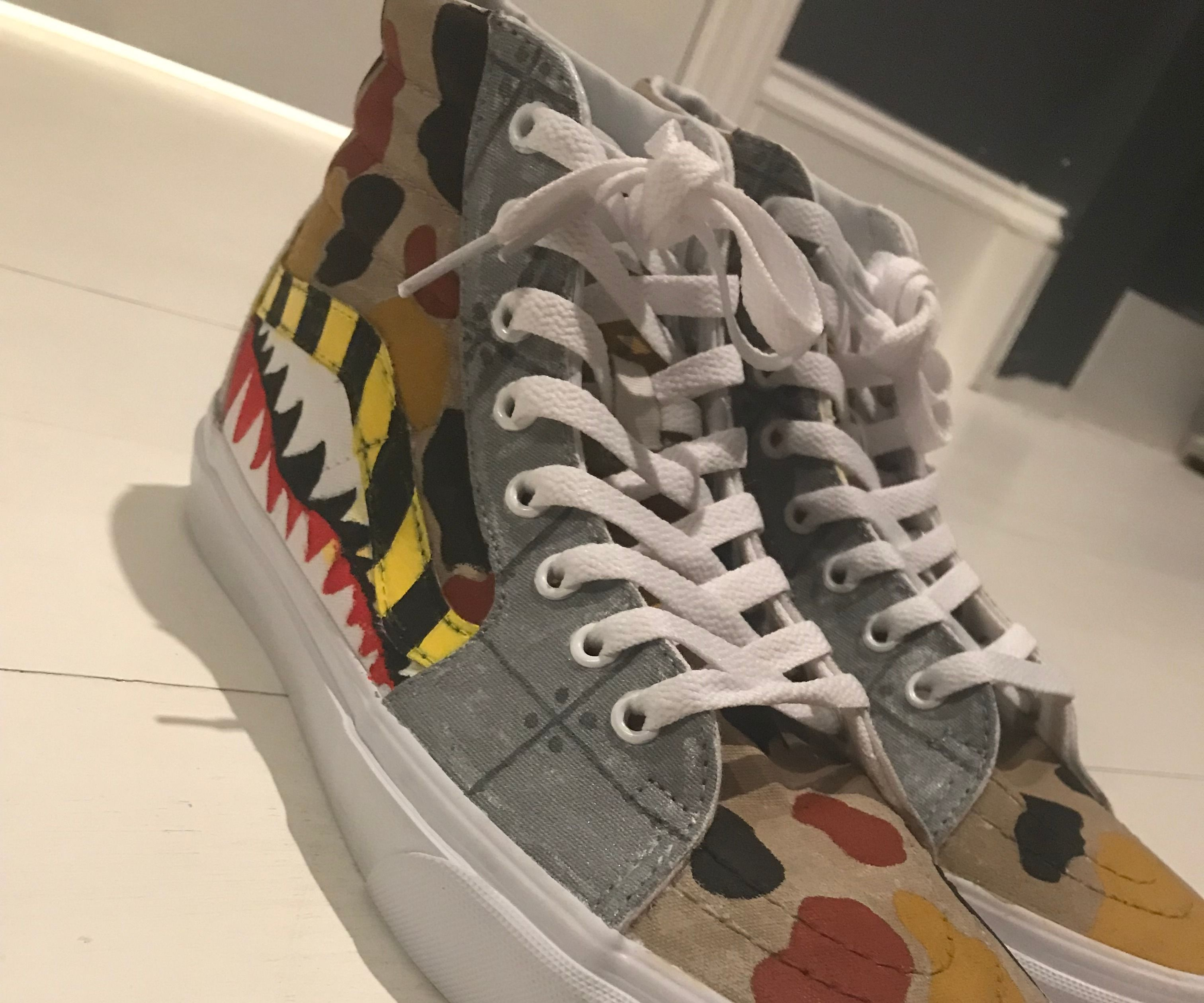 Custom Vans Shoes : 5 Steps (with