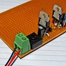 Dual voltage regulated power supply for Arduino/microcontroller projects