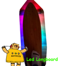 DIY Glowboard Using Bluetooth an Arduino and Some WS2812B LED