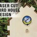 Laser Cut Birdhouse Design