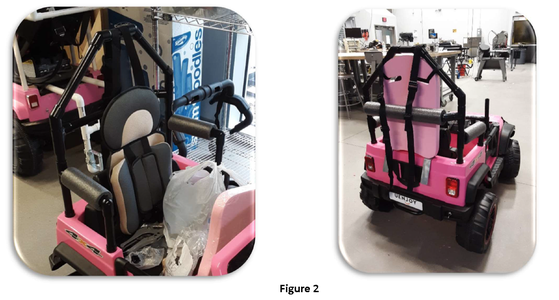 Roll Bar and Harness Mounting