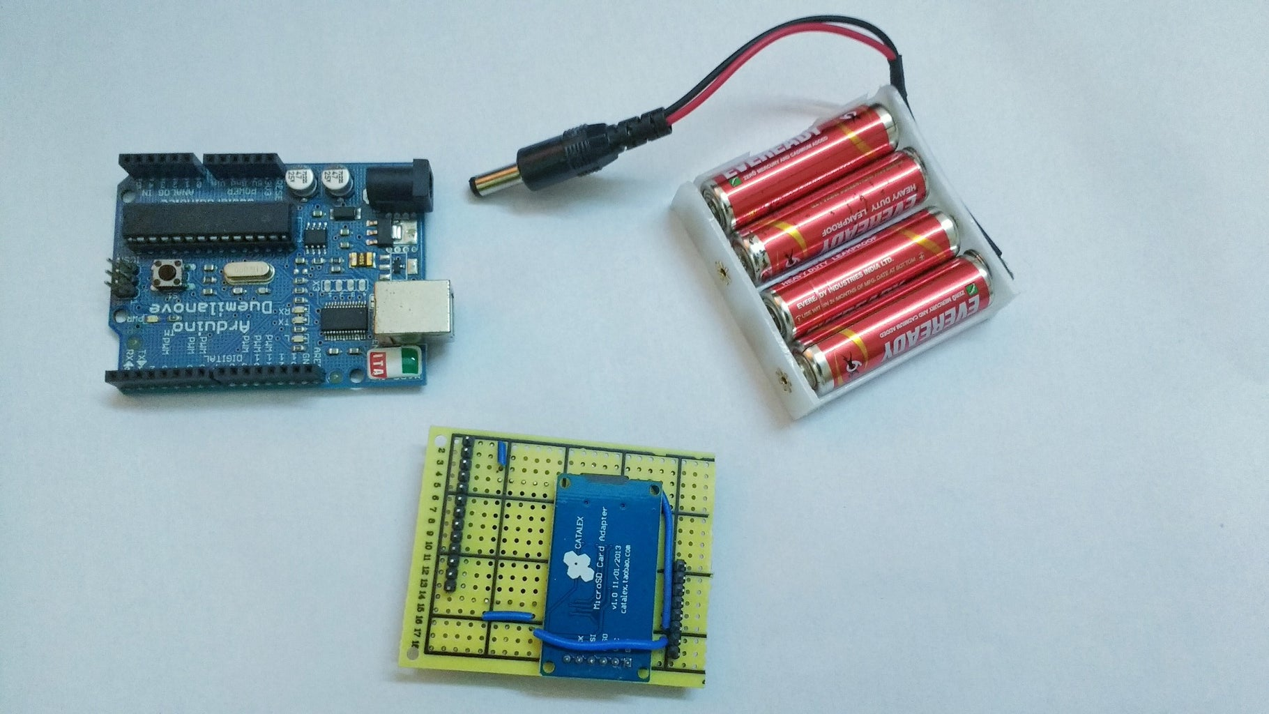 Design of Electronics to Accumulate Data (step 3): Putting Things Together