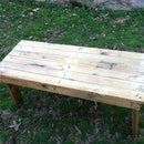 Pallet Table- nice and slow