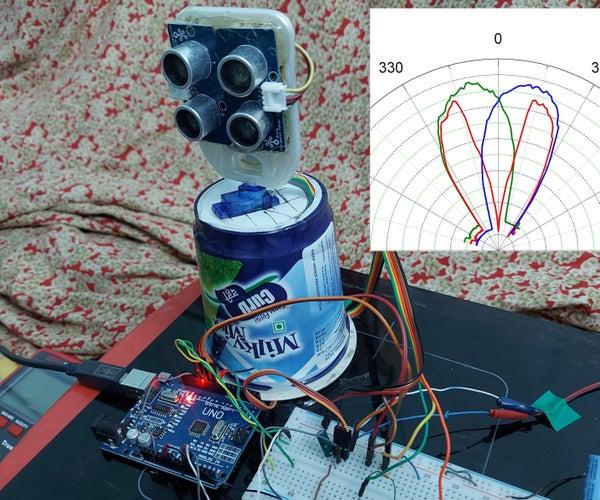 Ultrasonic Mono Pulse Tracker