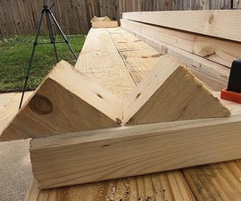 45 Degree Board Holding Jig for Chamfer Planning