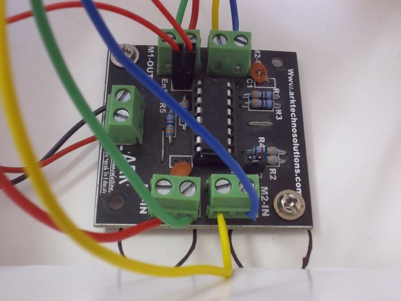 Setting Up Motor Driver..