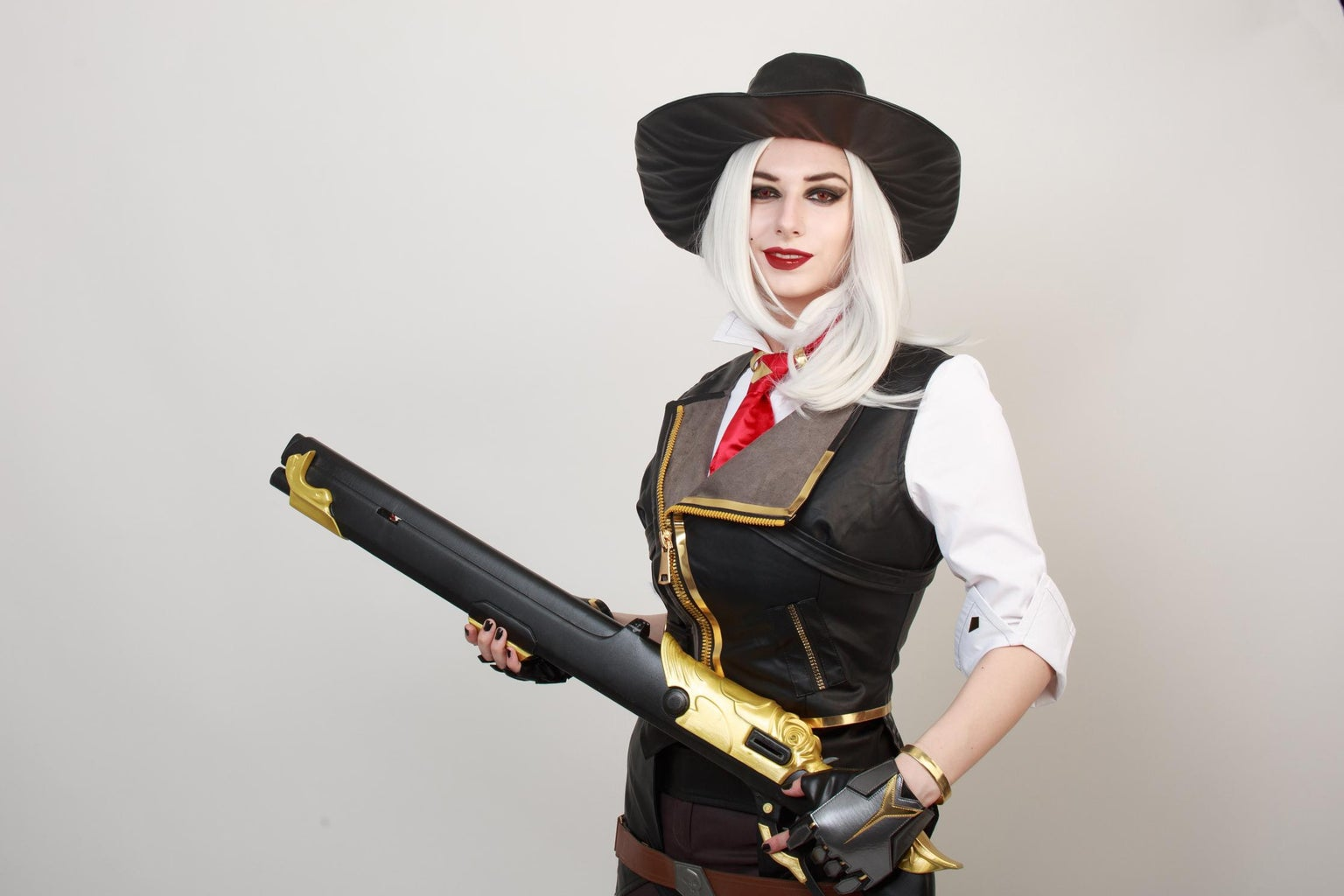3D Printed Ashe's Rifle (Overwatch) Cosplay Tutorial
