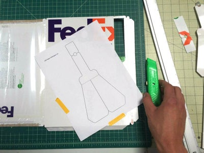 Cut Out the Paper Helicopter