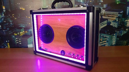 Music Box With Light Show