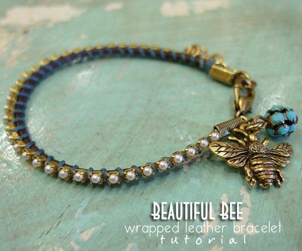 Beautiful Bee Bracelet
