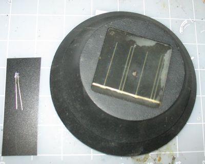 UV LED Solar Light Modification